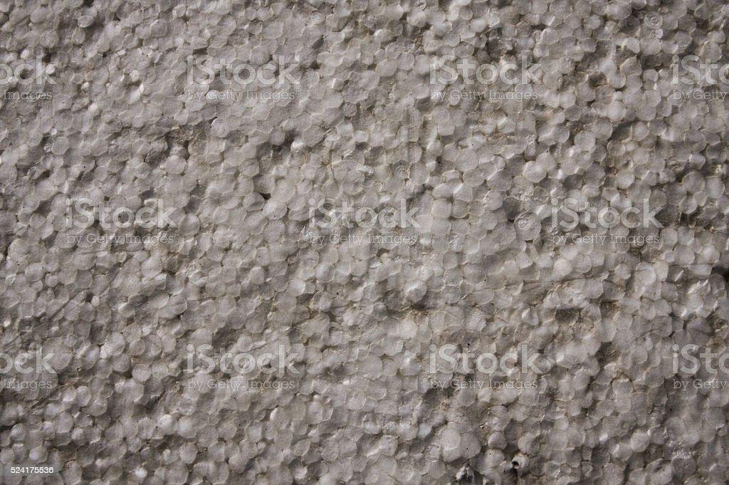 Old grunge styrofoam texture background stock photo
