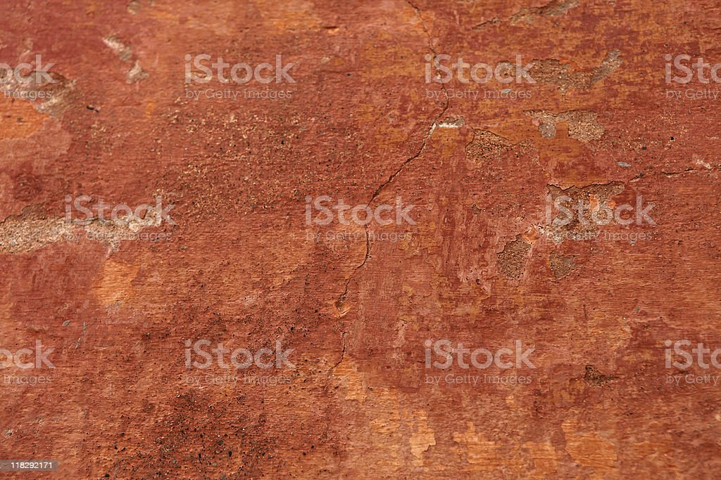 Old grunge wall texture with cracks stock photo
