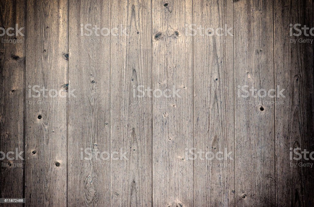 old, grunge wood panels used as background stock photo