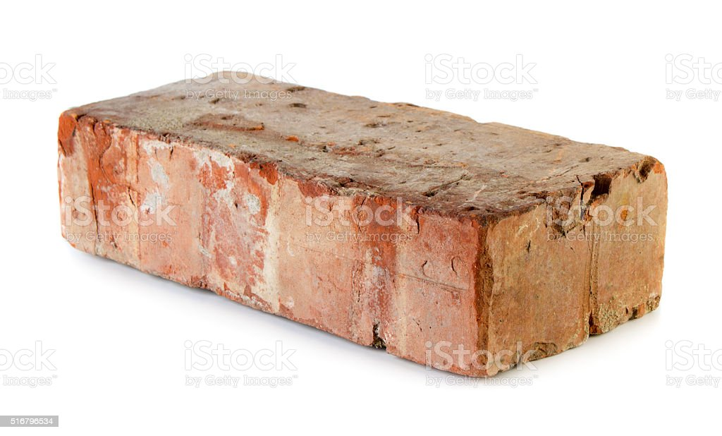 Old grungy brick stock photo