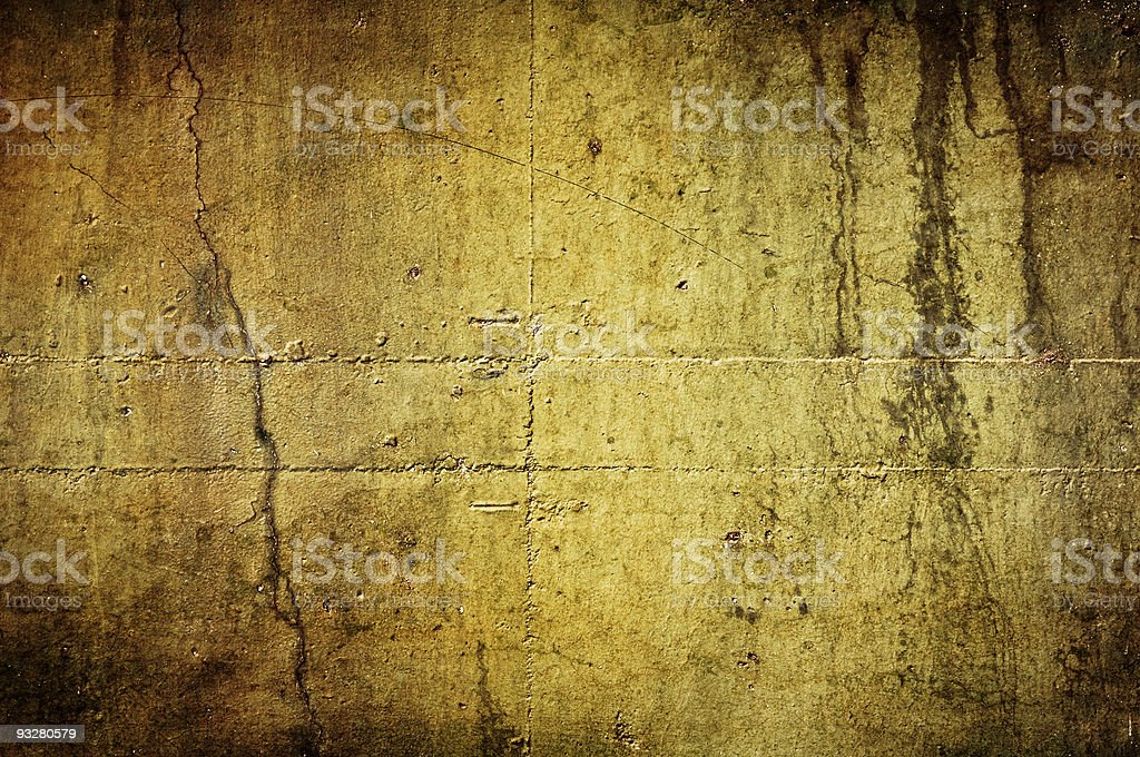 Old Grungy Wall royalty-free stock photo