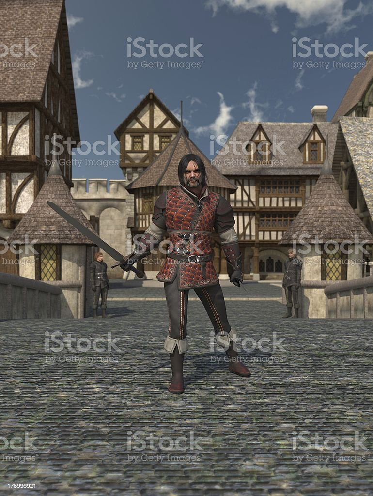 Old Guard royalty-free stock photo