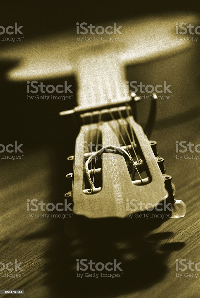 Old Guitar royalty-free stock photo