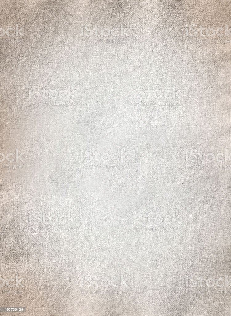 Old hand made paper royalty-free stock photo