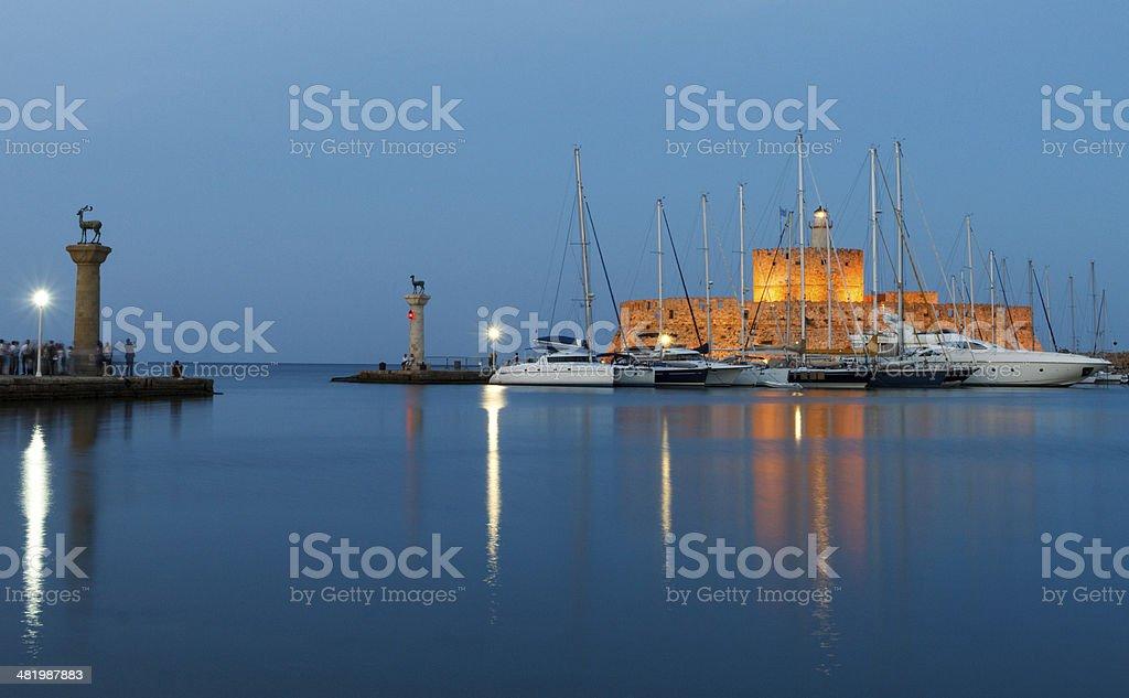 Old harbor royalty-free stock photo