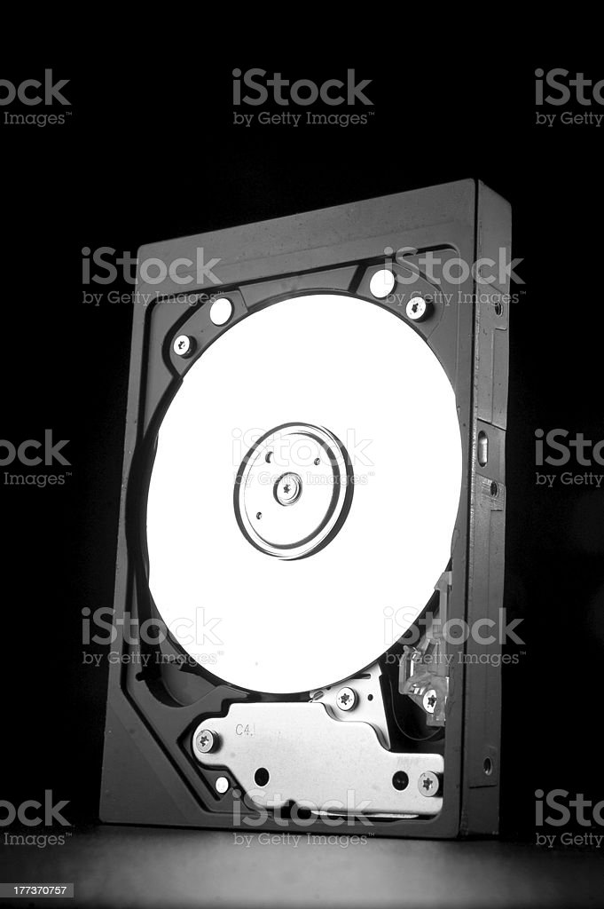 Old Harddrive royalty-free stock photo