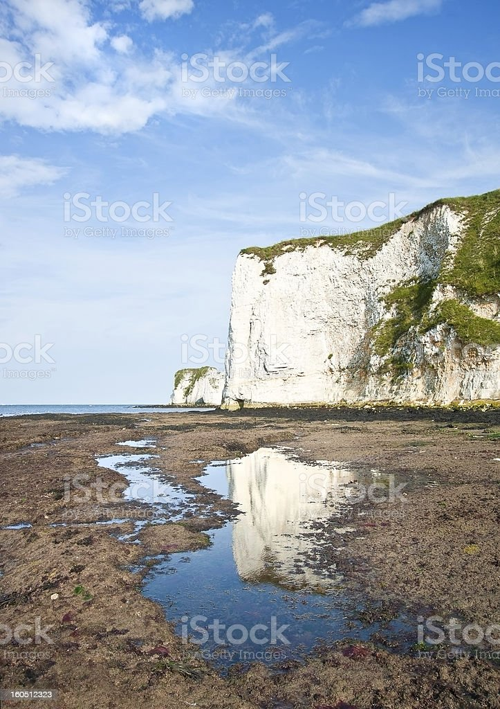 Old Harry Rocks Jurassic Coast UNESCO Dorset England stock photo