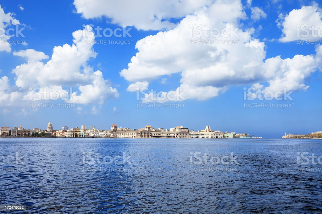 Old Havana royalty-free stock photo