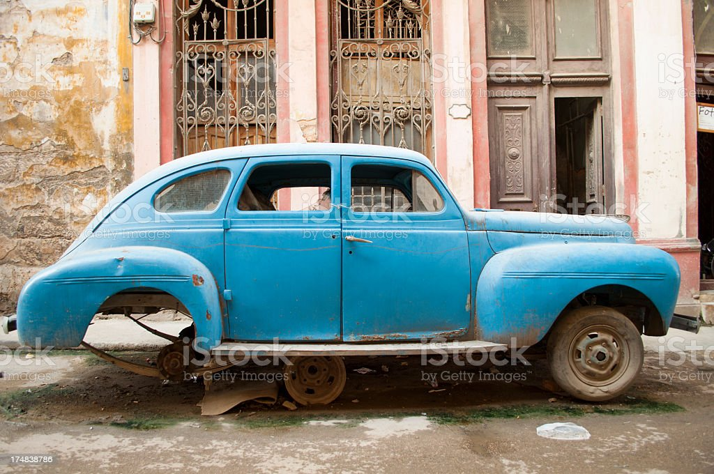La Habana Vieja royalty-free stock photo