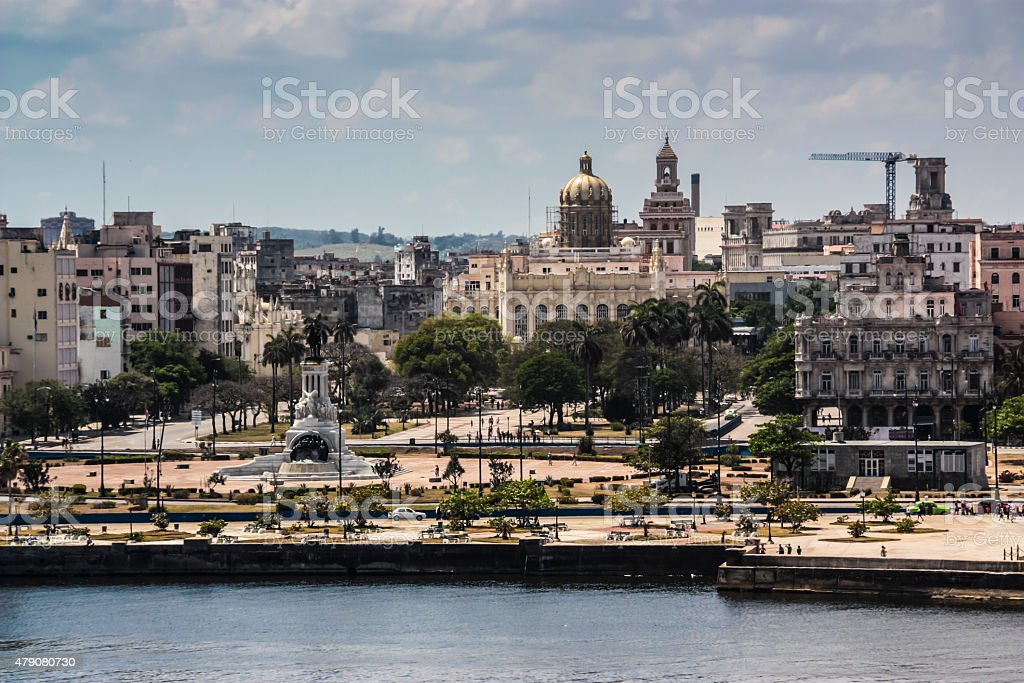 Old Havana stock photo