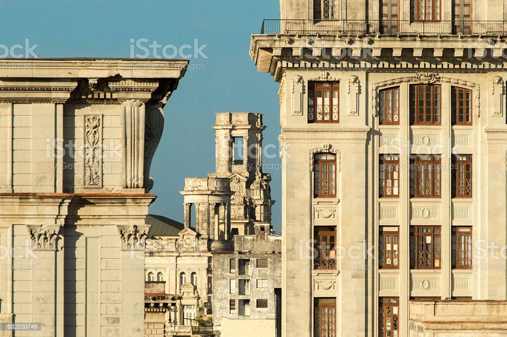 Old Havanna, Cuba stock photo