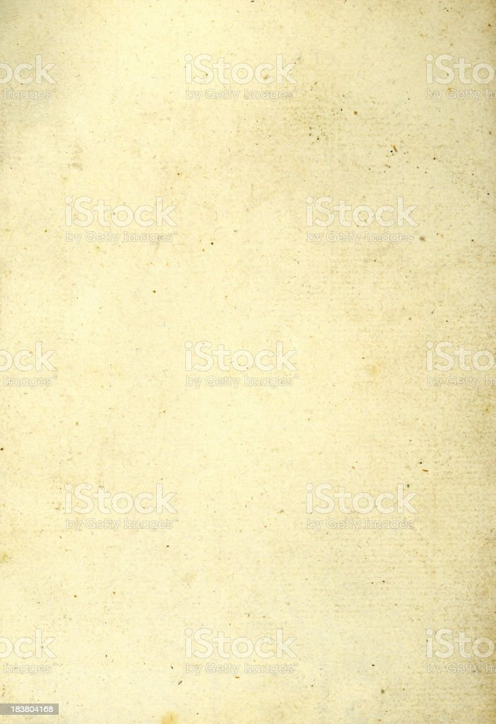 Old Heavyweight Paper royalty-free stock photo