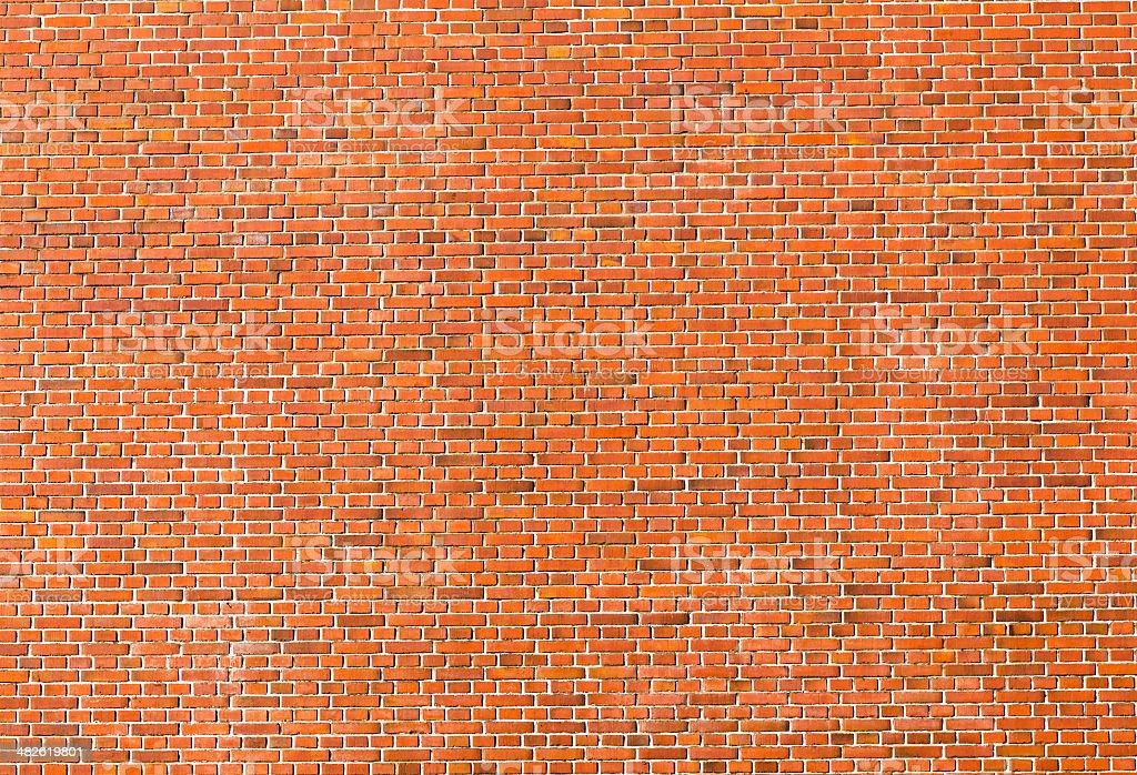 Old historic brickwall stock photo