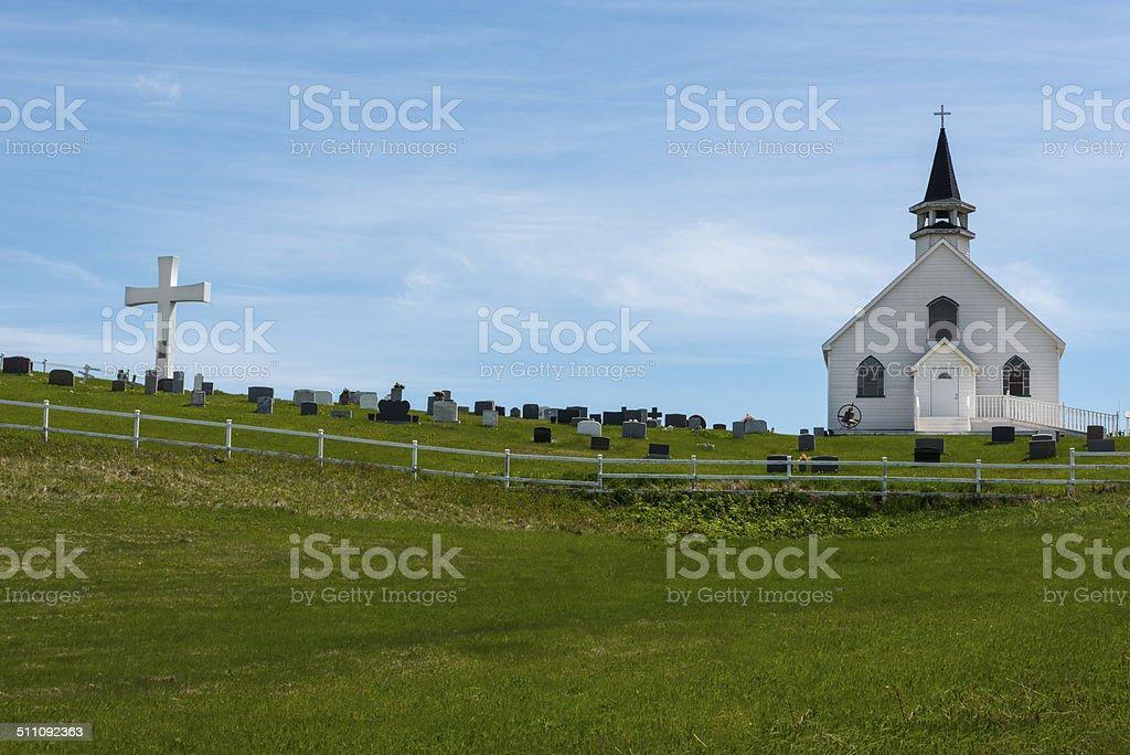 Old Historic Church. stock photo