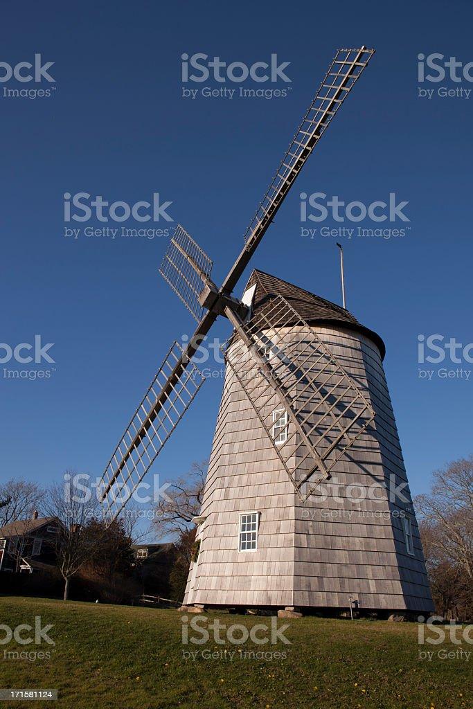 Old Hook Mill, East Hampton, Long Island stock photo