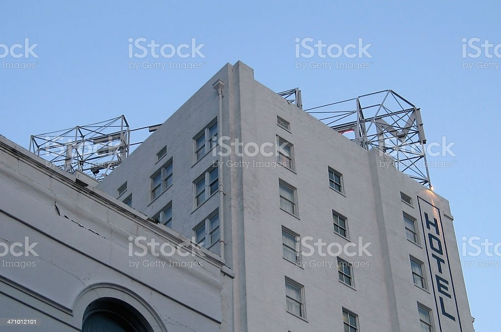 Old Hotel - New Orleans royalty-free stock photo