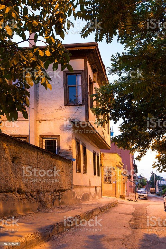 Old House  burdur stock photo