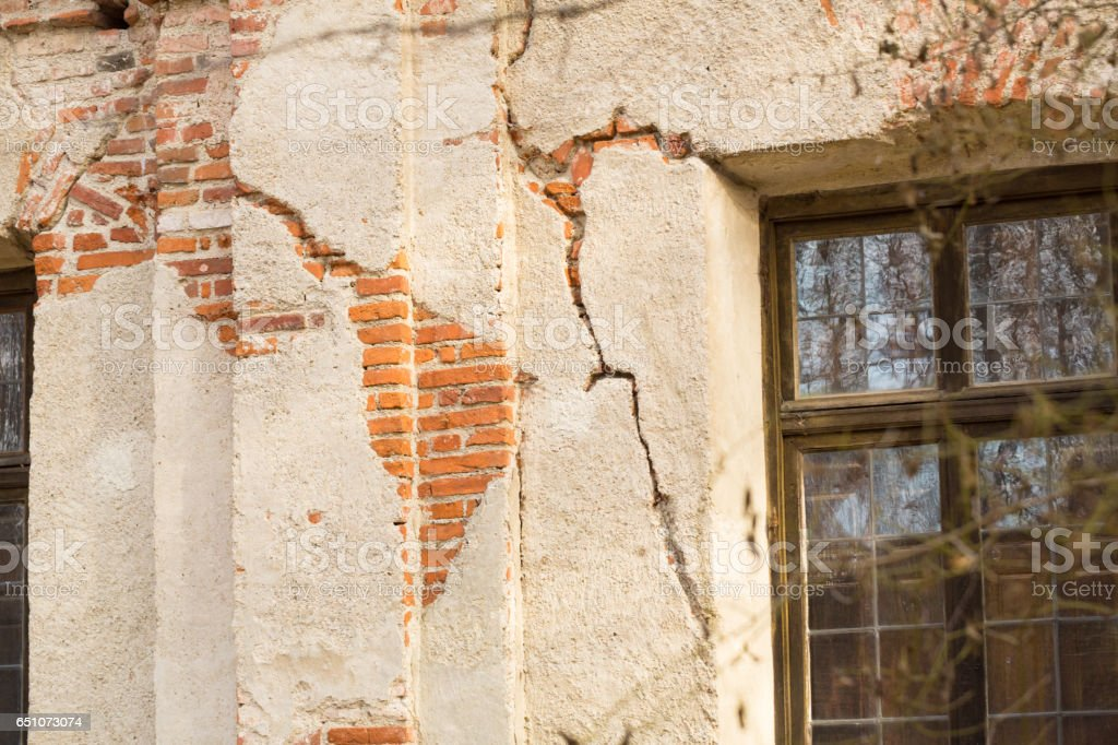 Old House Column stock photo