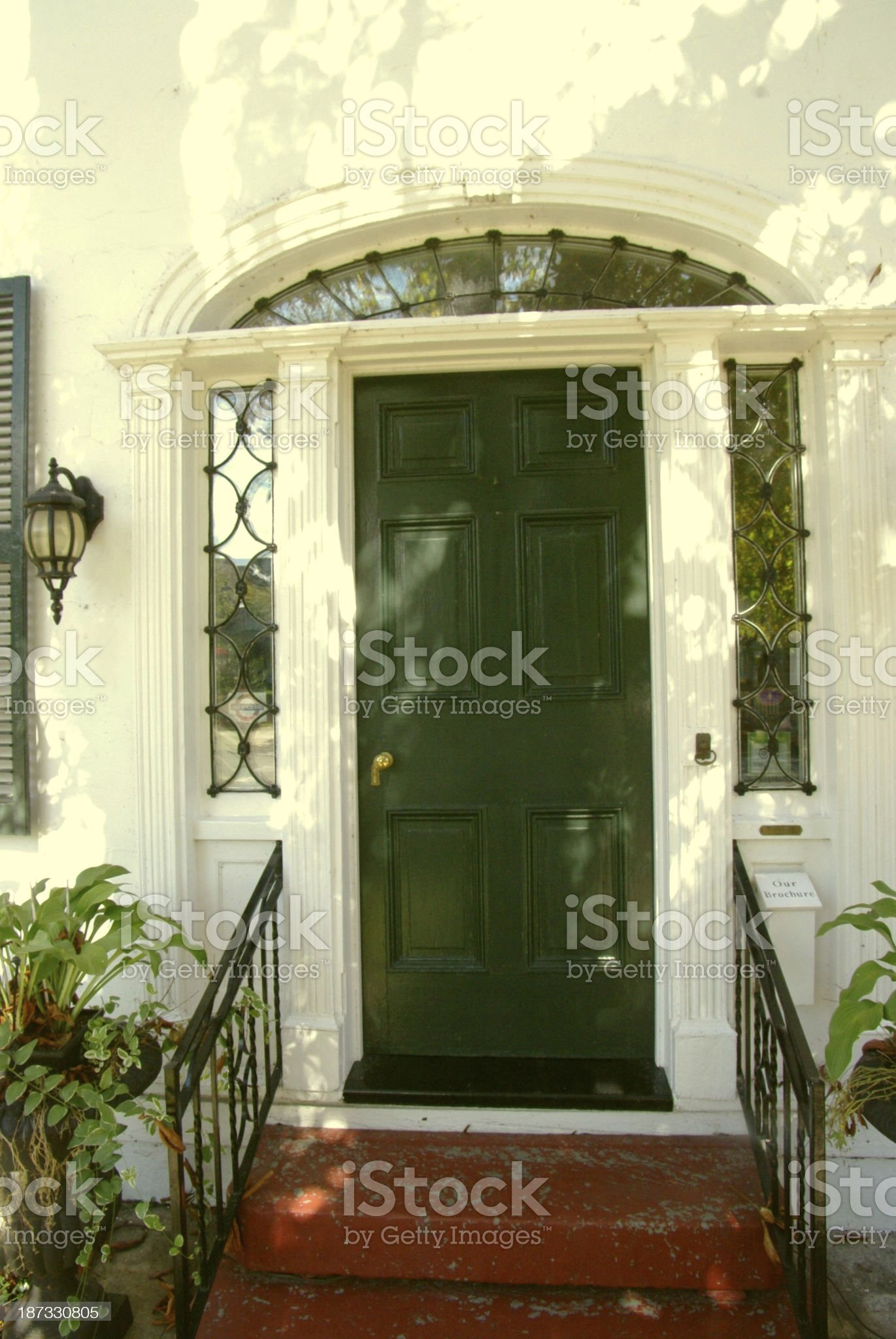 Old house entrance royalty-free stock photo