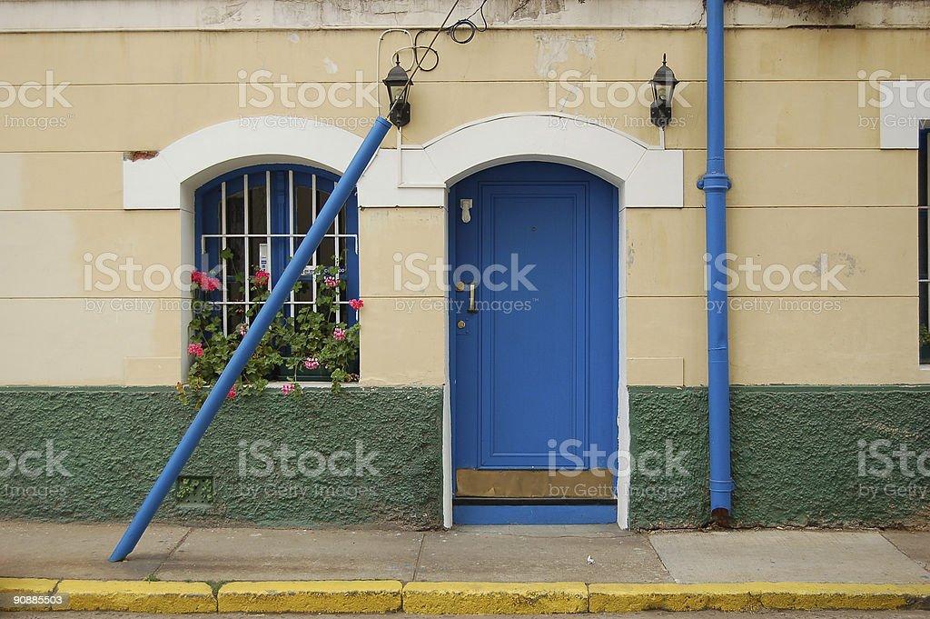 Old House Facade stock photo