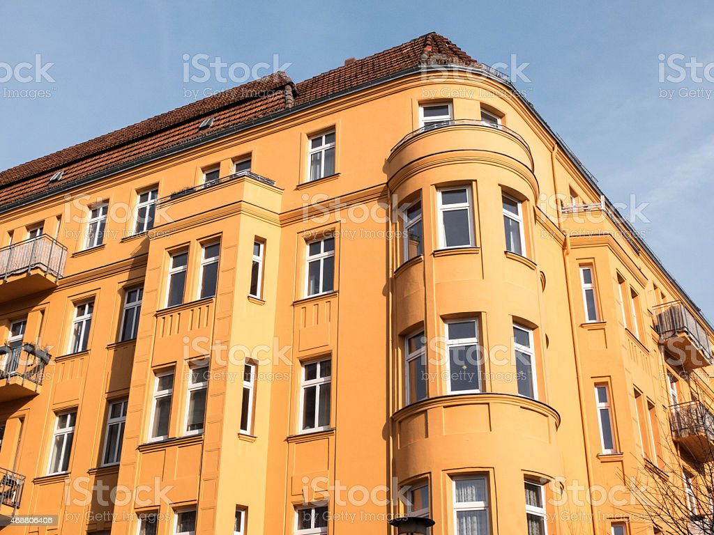Old house in Berlin stock photo