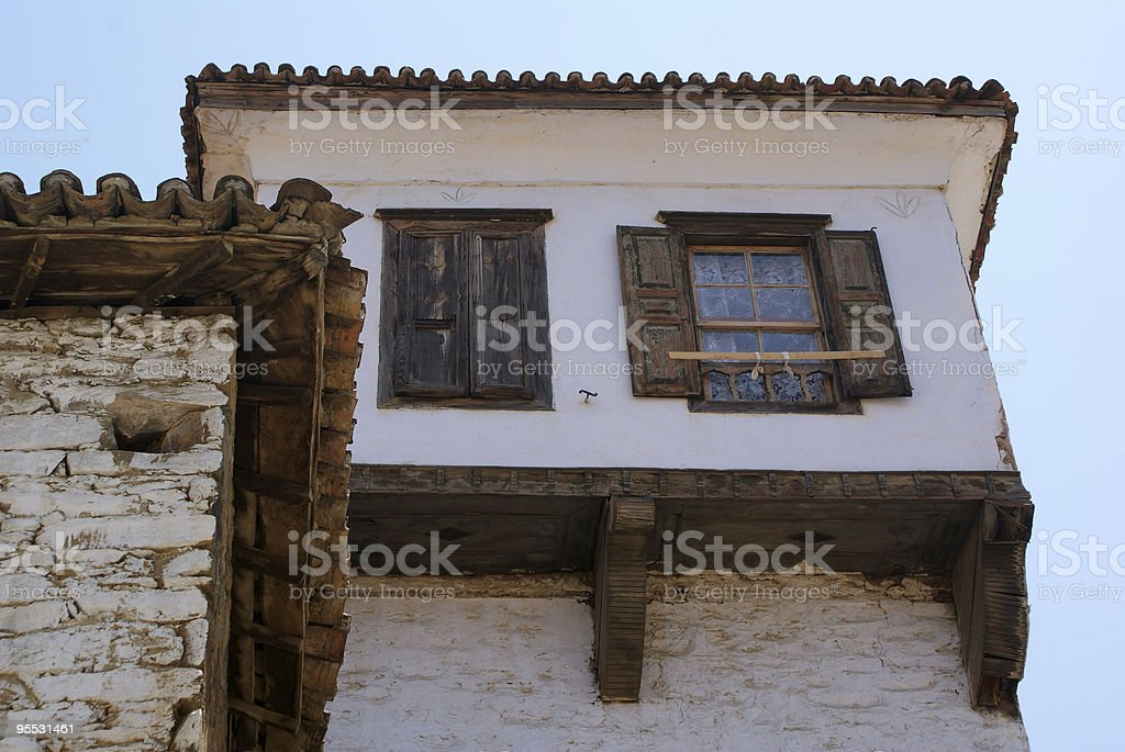 old house in Sirince royalty-free stock photo