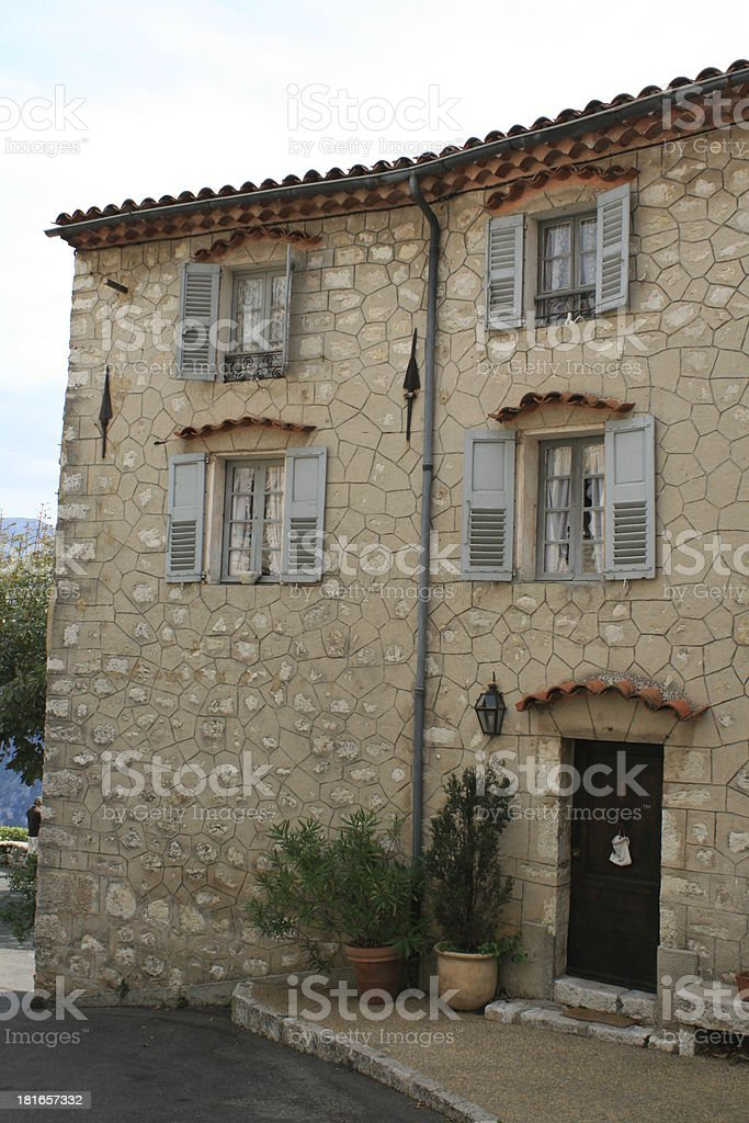 old house in southern france royalty-free stock photo
