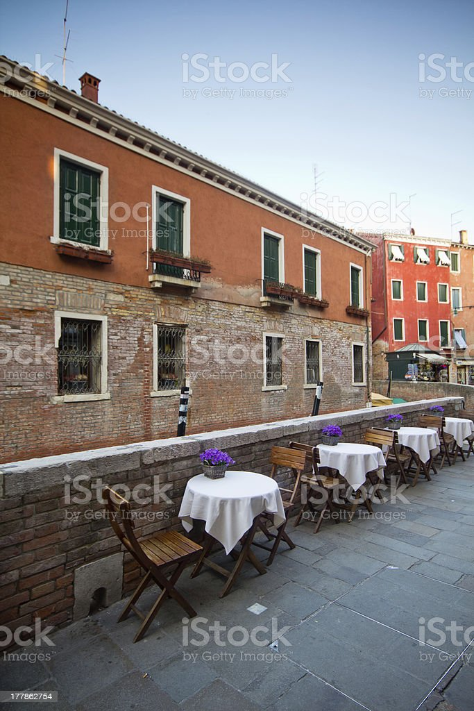 Old house in Venice, Italy royalty-free stock photo