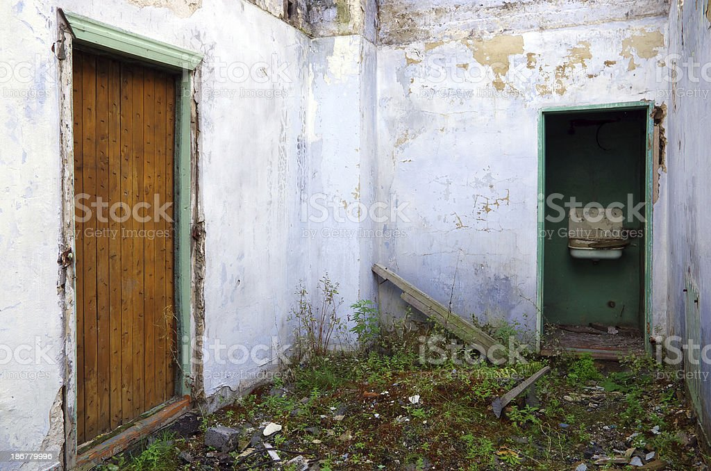 Old house interior royalty-free stock photo