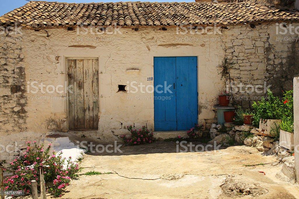 Old House, Kefalonia royalty-free stock photo