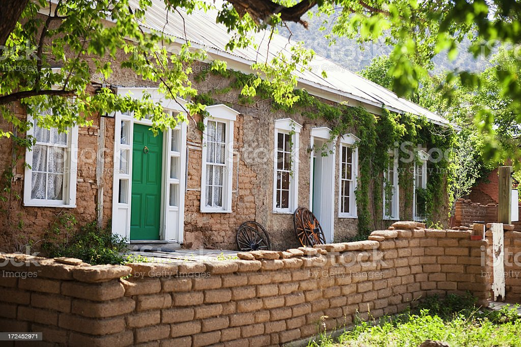 Old House - Lincoln, New Mexico royalty-free stock photo