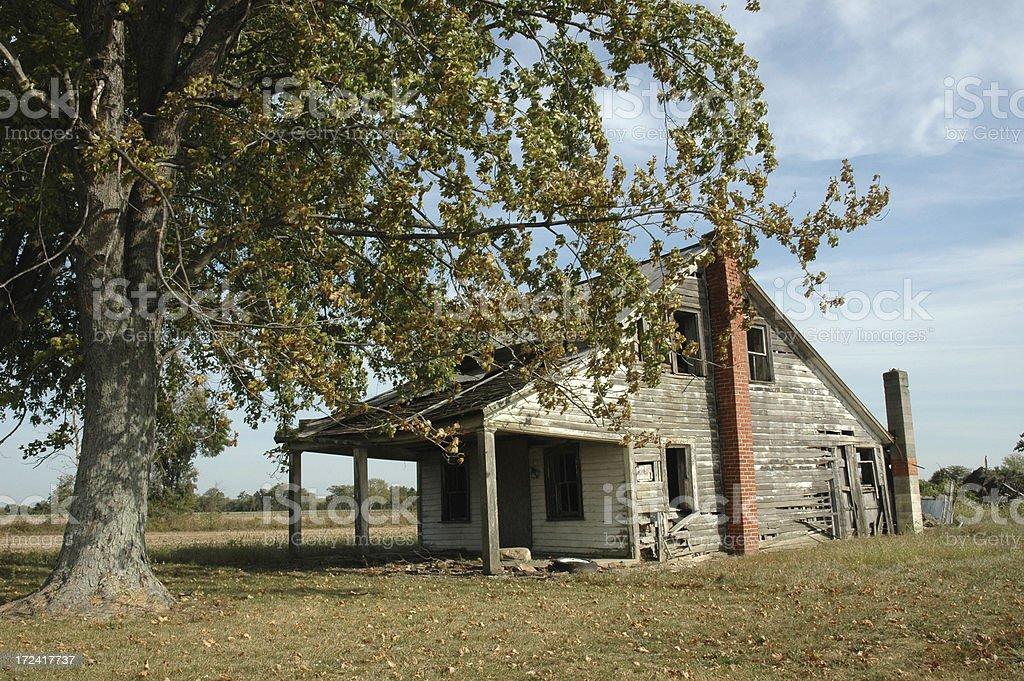 Старый дом Стоковые фото Стоковая фотография