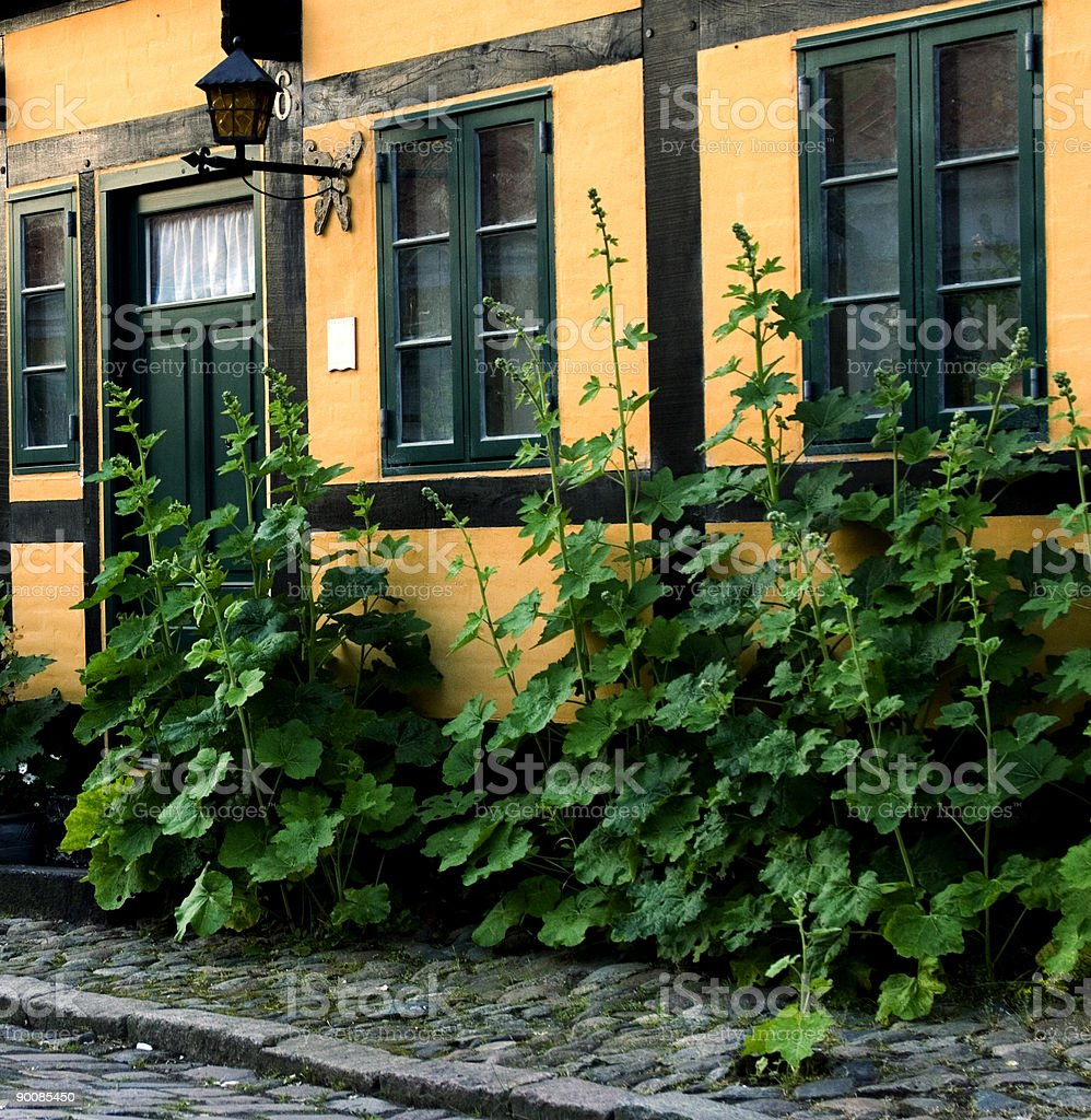 Old house stock photo