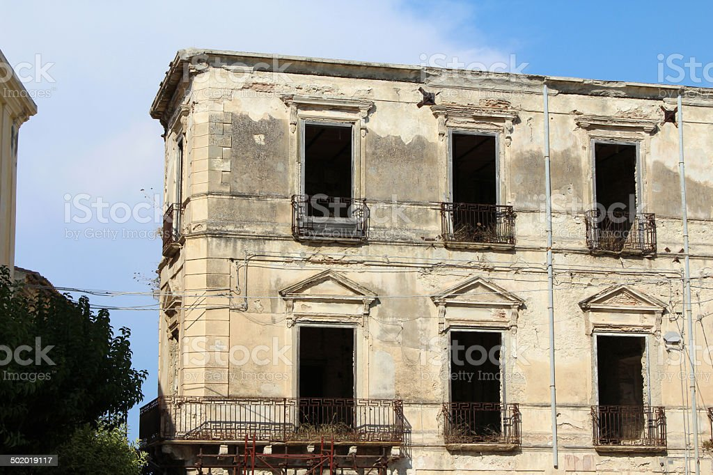 Old House, South Italy royalty-free stock photo