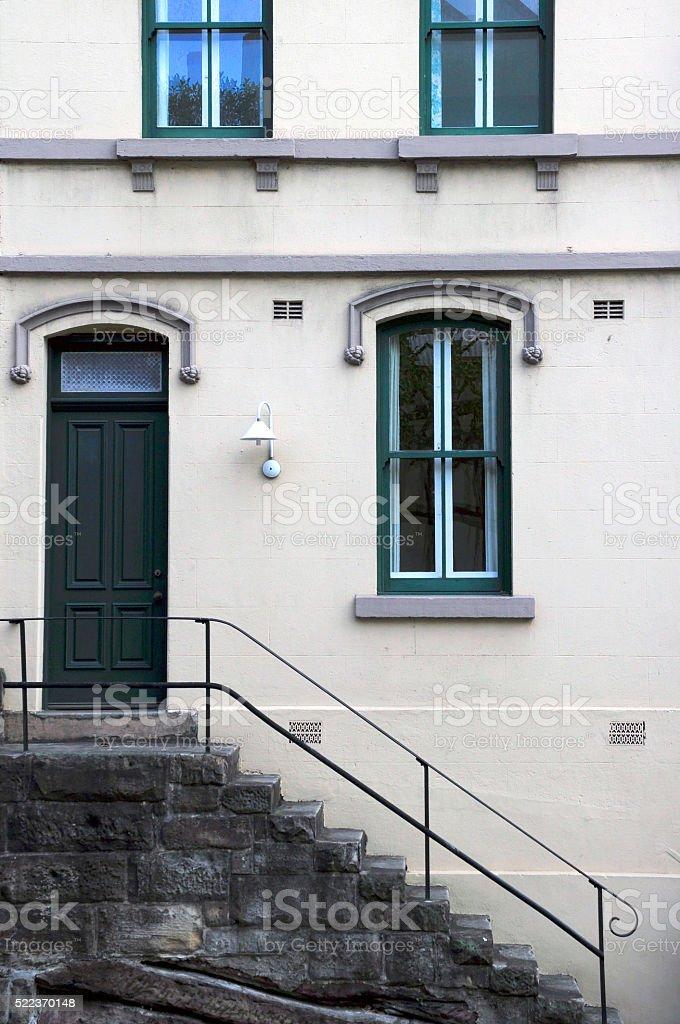 Old House, The Rocks, Sydney, Australia stock photo