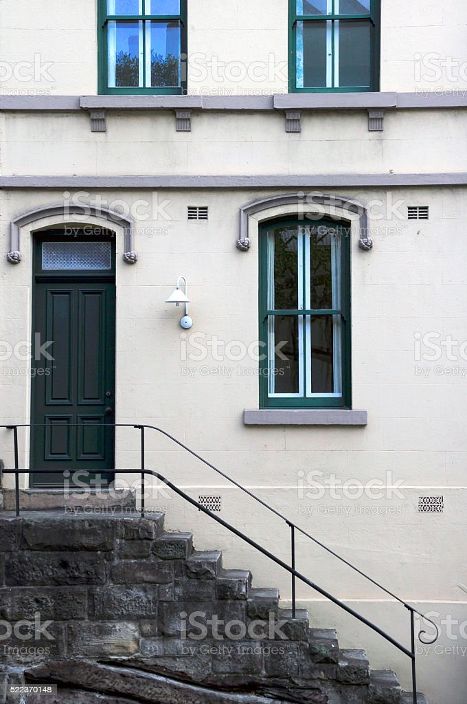 Old House, The Rocks, Sydney, Australia stock photo