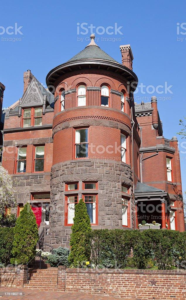 Old House, Washington DC royalty-free stock photo