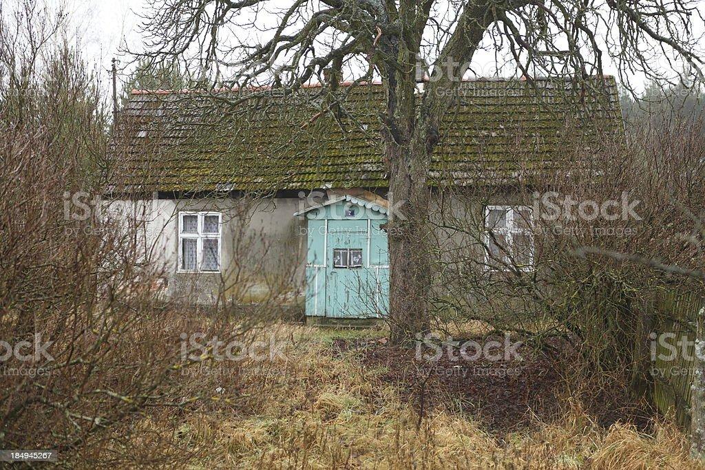 old hut royalty-free stock photo