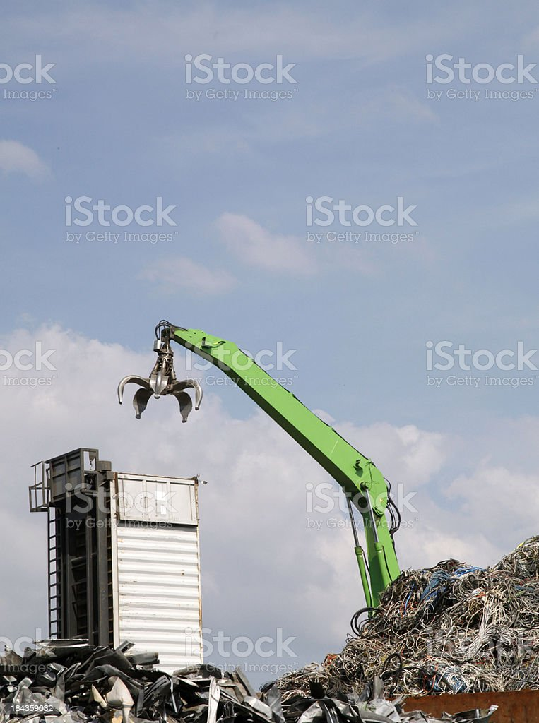 Old industrial material stock photo