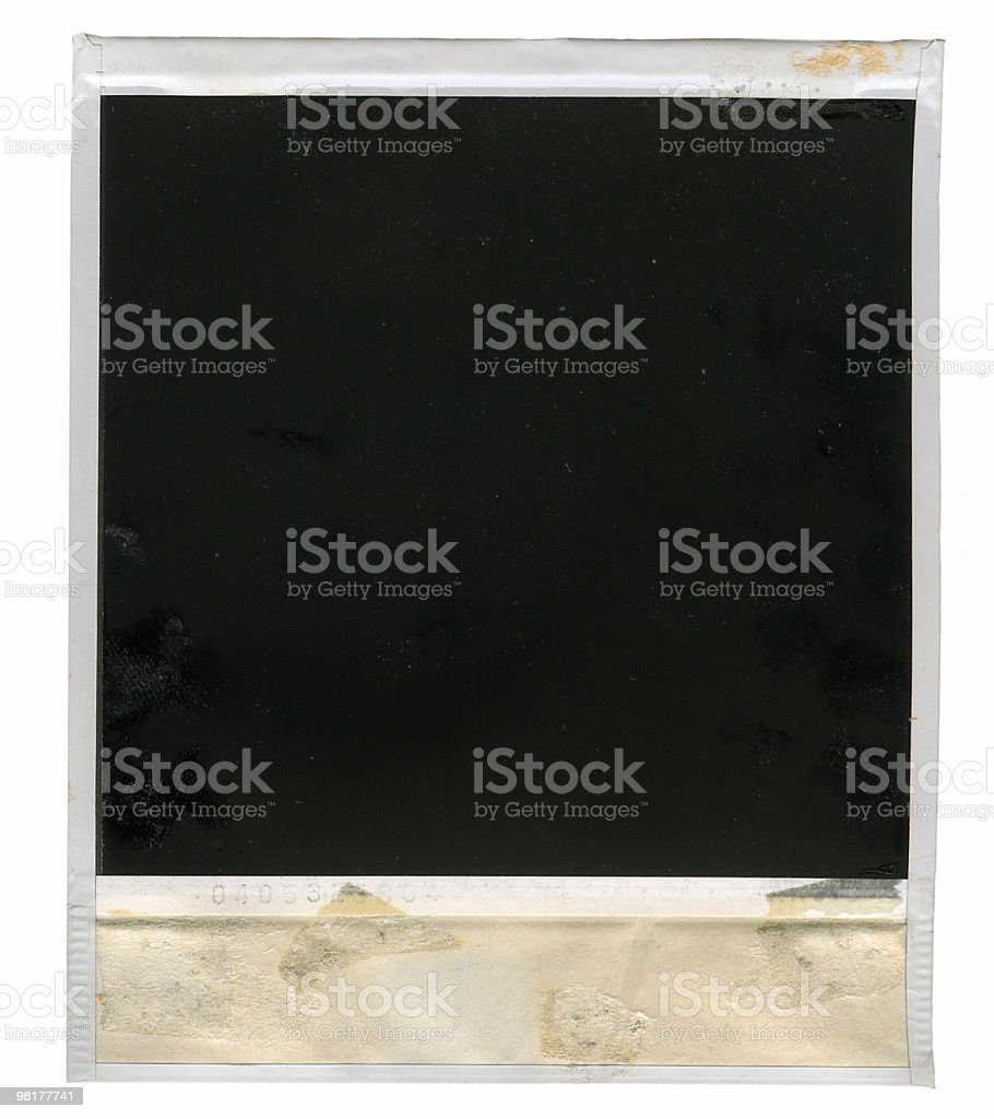 old instant photo royalty-free stock photo