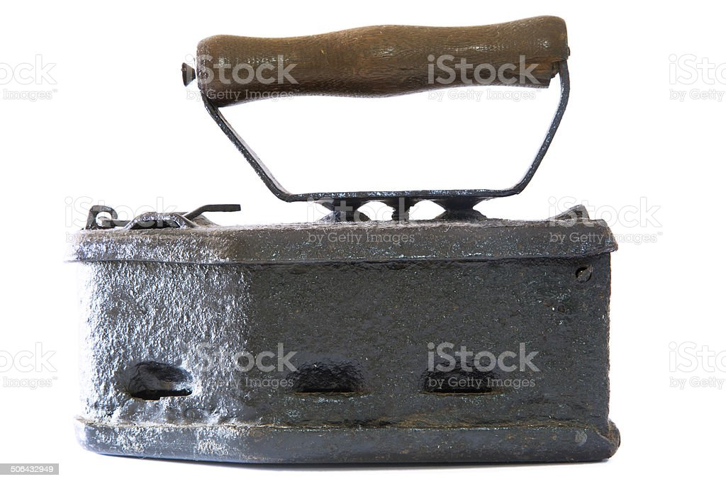 Old iron stock photo