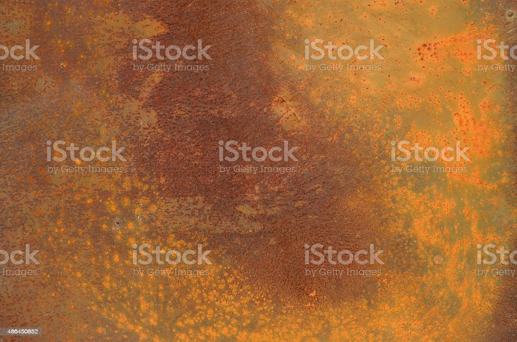 Old iron sheets rusty metal background stock photo