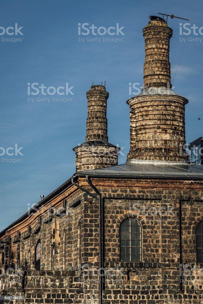 Old ironworks stock photo