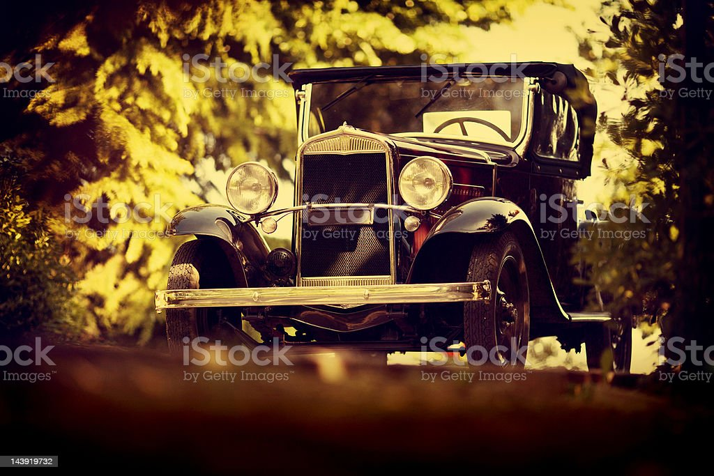 old italian car from 1921 royalty-free stock photo