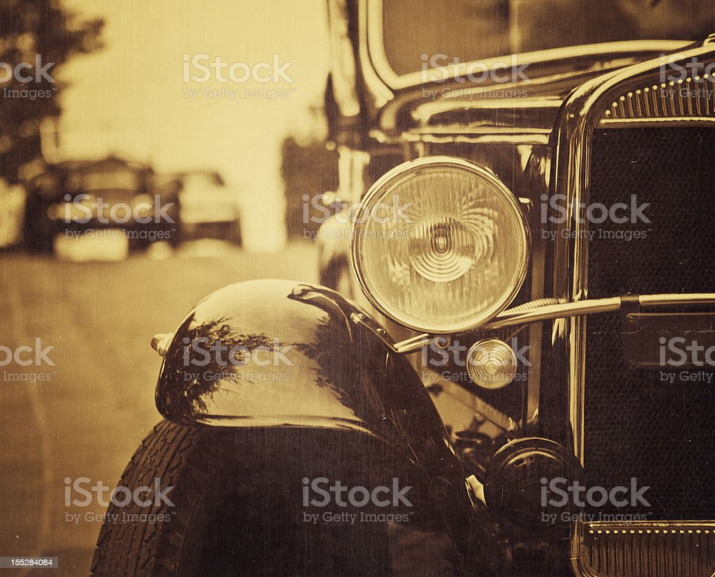 old italian car from 1921 stock photo