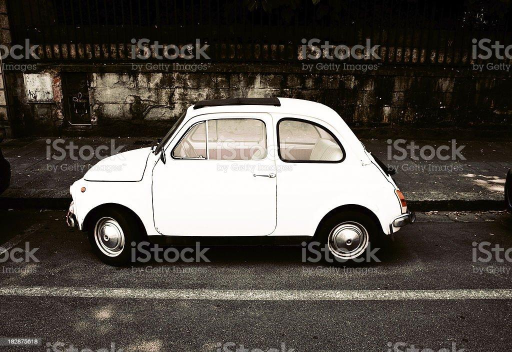 old italian car royalty-free stock photo