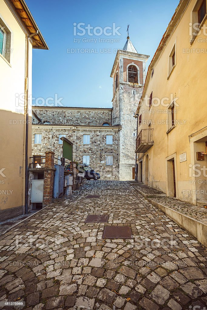 Old Italian Town, Pennabilli royalty-free stock photo