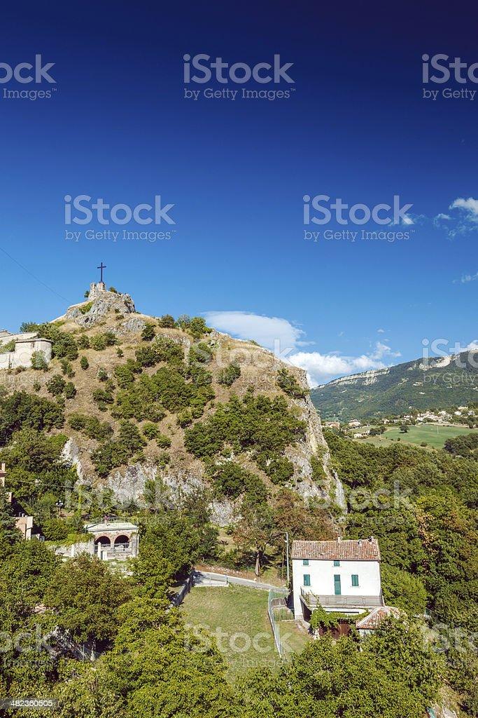 Old Italian Town, Pennabilli royalty-free stock photo