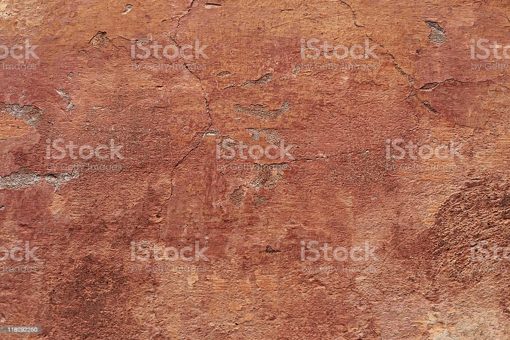 Old Italian wall texture with cracks royalty-free stock photo