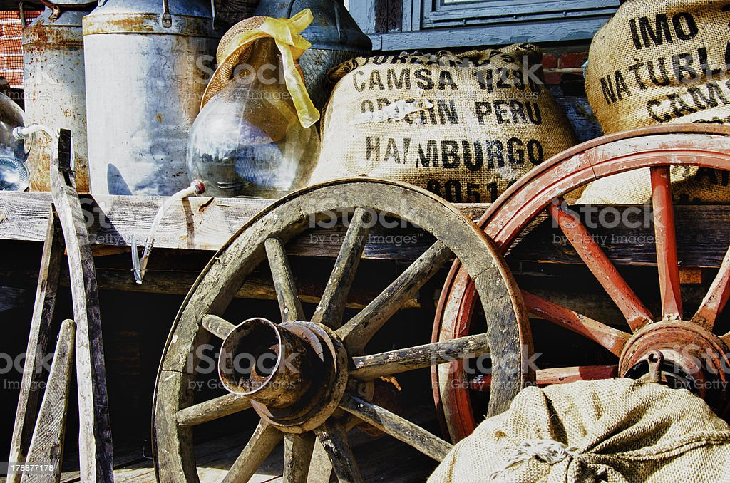 Old items from the farm - HDR royalty-free stock photo